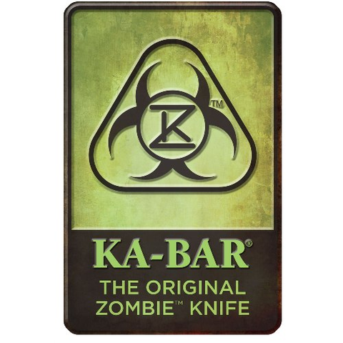 Zombie Knife Sign
