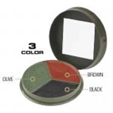 3 Color Camouflage Cream Compact