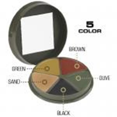 5 Color Camouflage Cream Compact