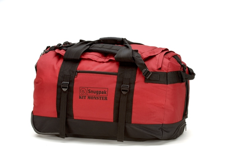 SNUGPAK-Roller Kit Monster Red 65L