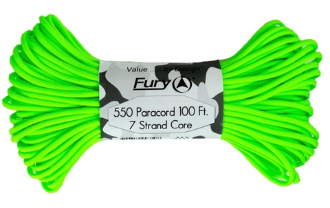 Fury Paracord Neon Green