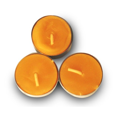 Beeswax Tea Light Candles - 3 Pk