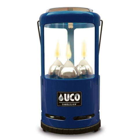 Candlelier Lantern Painted - Blue