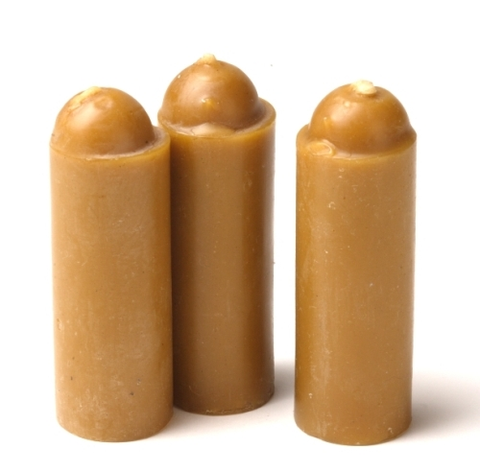 Beeswax Candles - 3 Pk