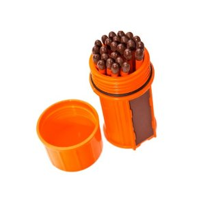 Match Container w-25 Matches - Orange