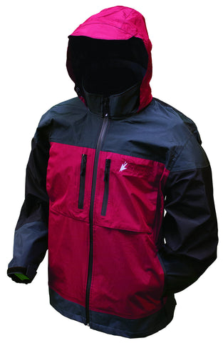 Anura 3-Tone Jacket Red-Blk Medium