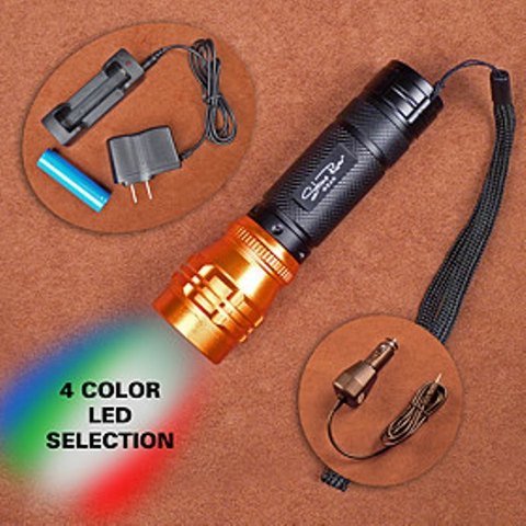180 Lum 4 CLR Flashlight
