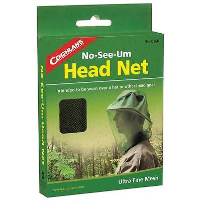 Coghlan's 0160 Head Net- No-see-um Bug Mosquito Pest Face Netting Cover
