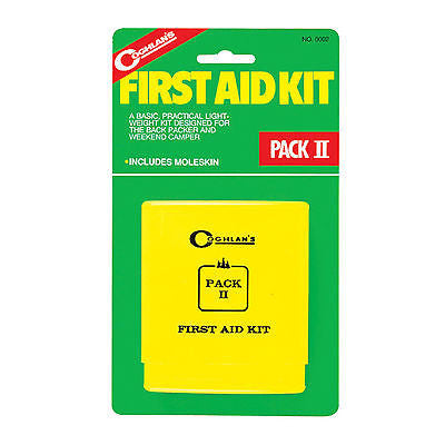Coghlans #0002 Pack II First Aid Kit 37 Pieces for Emergencies Camping Hiking
