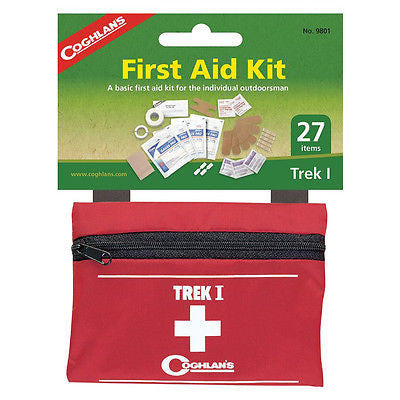 Coghlans First Aid Kit Trek I Emergency Survival-Camping Hiking Outdoors 9801