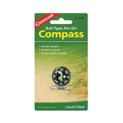 Pin on Compass Coghlan's Coghlans 8268- Camping Hiking Backpacking Traveling NEW