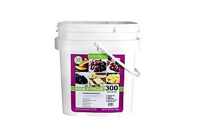 Lindon Farm Freeze Dried Tropical Fruit Bucket Long Term Storage 300 rp4086