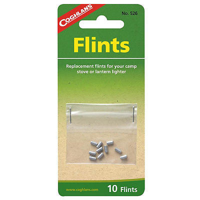 Coghlans 526 Replacement Flints for Camp Stoves Lanterns Lighters Zippos Striker