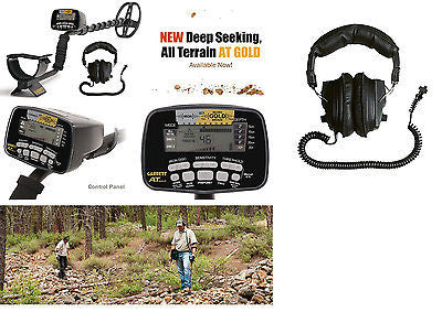 Garrett AT Gold Metal Detector Submersible 2 Yr Garrett Warranty+Free Headphones