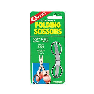 Coghlan's 7600 Coghlans Sportsman's Folding Scissors-Camping First Aid Sew NEW