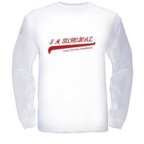 IM Survival Love to Live Outdoors Long Sleeve T-Shirt