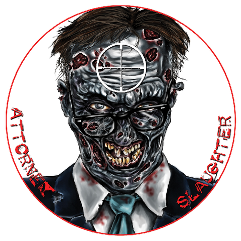 Zombie Dots Attorney Slaughter