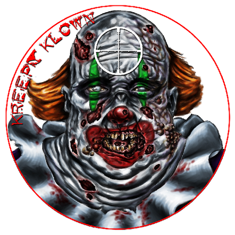 Zombie Dots Kreepy Klown