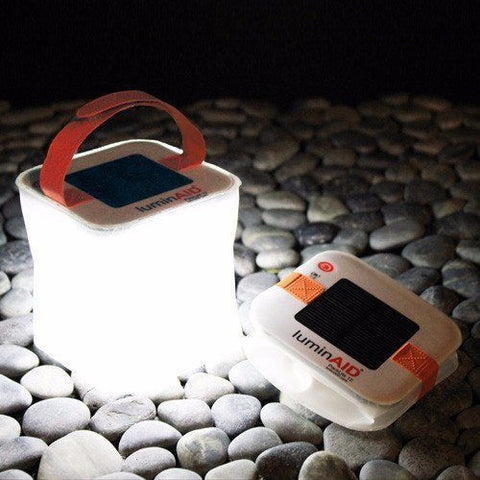 LuminAID Packlite 12 Expanding Waterproof Solar Emergency Light System