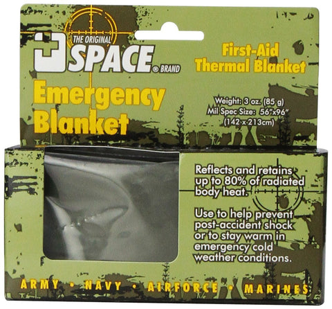 Grabber Space Emergency Tactical Survival First Aid Thermal Blanket