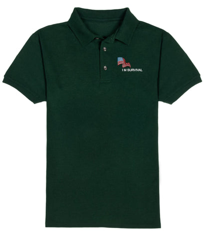 IM Survival Polo Short Sleeve Shirt
