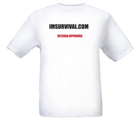 IM Survival Veteran Approved Short Sleeve T-Shirt