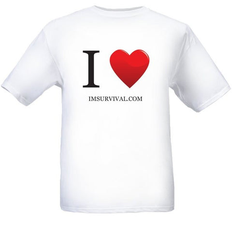 IM Survival Love Short Sleeve T-Shirt