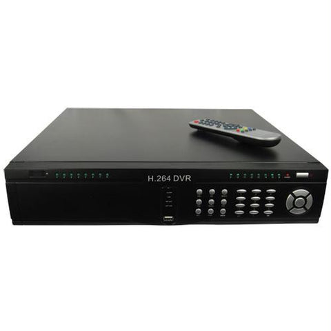 16 Channel HD DVR with 2TB hard drive