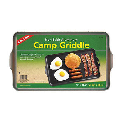 Coghlans- Camp Griddle Stove- Non-Stick, Aluminum, Two Burners- Coghlan's 7640