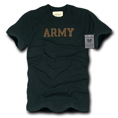 Tee Shirt Military Security Army Police Marines Cotton T-Shirt Rapdom R57