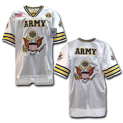 4a5fbf33c Military Football Jersey Marine Corps Navy US Air Force Army Rapdom ...