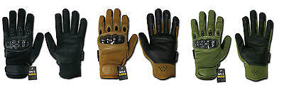 Carbon Fiber Tactical Gloves Rapid Dominance Rapdom T41