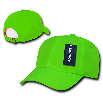 Six Panel Neon Polo Cap Baseball Caps Hat Ballcap Decky 761