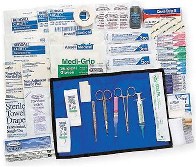 Adventure Medical Kits Suture Syringe Travel Kit Hospital Surgical Quality 0130-0567
