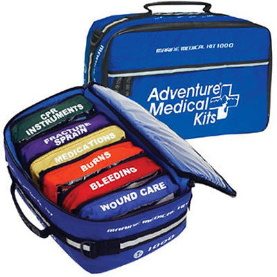 Adventure Medical Kits AMK Marine 1000 Small Crew Safety Boating Water Craft 0115-1000