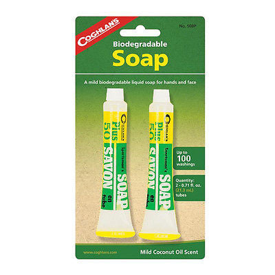 Coghlan's 50BP, Liquid Soap Hand & Face-Clean Biodegradable- Camping Sports Hunt