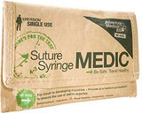 Adventure Medical Kits Suture Syringe Medic Pouch for Travelers Sterile Emergency