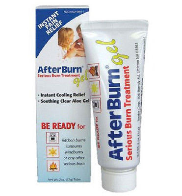 AfterBurn Gel Cooling Aloe Vera for Windburn Heat Sunburn Fire AMK 0006-5120