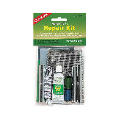 Coghlan's Nylon Tent Repair Kit Camping Hunting Hiking Prepping 0205 Coghlans
