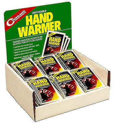 Coghlan's Coghlans 8797B Body Hand Warmers- 6 Hours Camping Hunting Ski Fishing