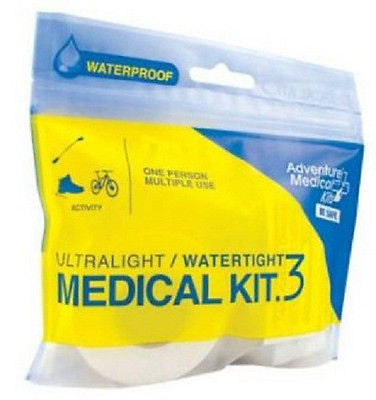 UltraLight & Watertight .3 Medical First Aid Kit Hiking Rafting