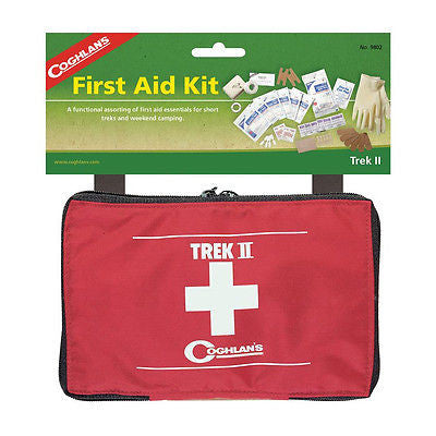 Coghlans First Aid Kit Trek II Emergency Survival-Camping Hiking Outdoors 9802