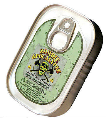 Zombie Apocalypse Emergency Survival KIT SARDINE CAN Medical Supplies Aid Escape
