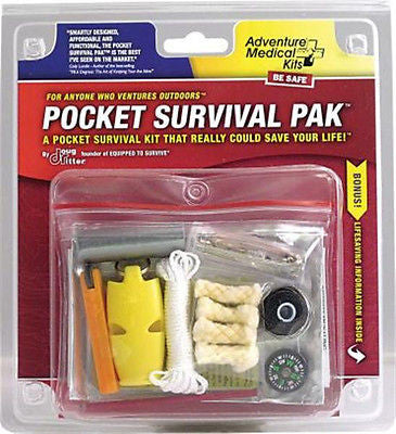 Adventure Medical Kits- SOL Pocket Survival Pak Kit Pack-Survival Tools Camping