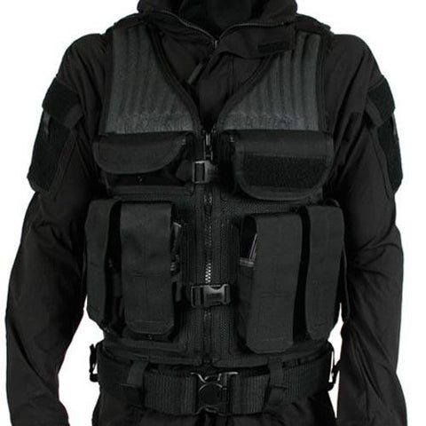 Omega Elite Tactical Vest #1 Black