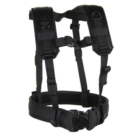 Load Bearing Suspenders Black