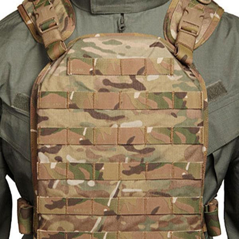 Lightweight Plate Carrier Harness LG-XL Multi Cam