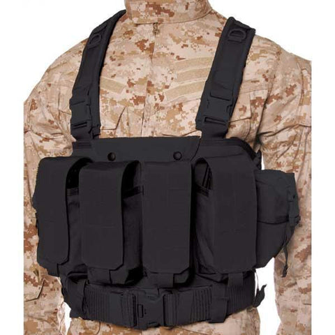 Commando Chest Harness Black