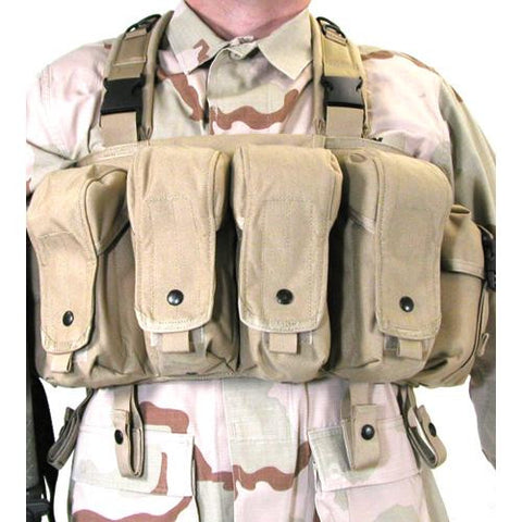 Commando Chest Harness COYOTE TAN