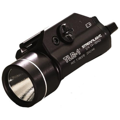 TLR-1®LED Rail Mounted Flashlight, (2) CR 123A lithium